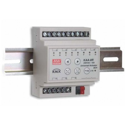 KNX ACTUATOR KAA-8R-10 *MEAN WELL